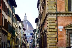 Beautiful Florence city view, Italy. Stock Images