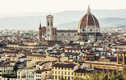 Beautiful Florence, Tuscany, Italy, historical cultural city Stock Image