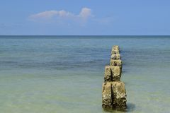 Beautiful Florida seascape. royalty free stock photography