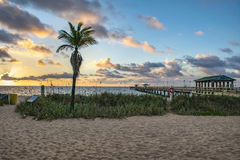 Beautiful Florida Sunrise Stock Photography