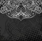 Beautiful flourish pattern Royalty Free Stock Photo