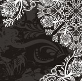 Beautiful flourish pattern Royalty Free Stock Photography