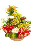 Beautiful flower arrangement Royalty Free Stock Photos