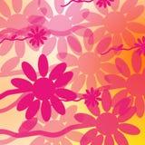 Beautiful flower background. Cheerful multipurpose backdrop royalty free illustration
