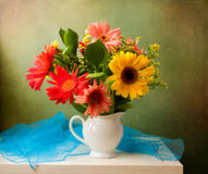 Beautiful flower bouquet Stock Photos