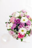 Beautiful flower bouquet with vivid colors Stock Photography