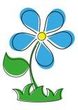 Beautiful flower. Illustration of a  beautiful flower Stock Image