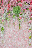 Beautiful flower wedding decorate stock photography