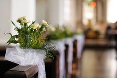 Beautiful flower wedding decoration Stock Photography