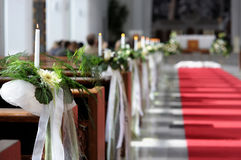 Beautiful flower wedding decoration Stock Photography