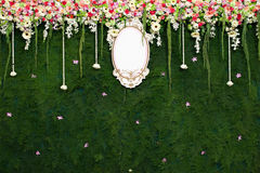 Beautiful flower wedding decoration Royalty Free Stock Image