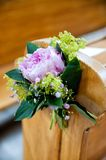 Beautiful flower wedding decoration Stock Image
