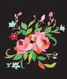 Beautiful flowers stock illustration