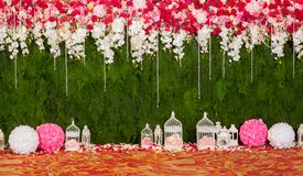 Beautiful flowers background for wedding Stock Photography