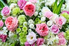 Beautiful flowers background for wedding scene. beautiful bouquet royalty free stock photo