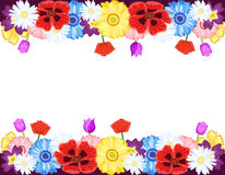 Beautiful flowers borders
