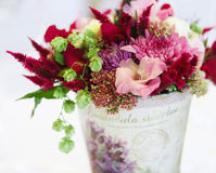 Beautiful flowers bouquet decor Royalty Free Stock Photos