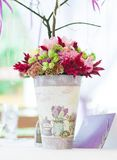 Beautiful flowers bouquet decor Royalty Free Stock Images