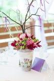 Beautiful flowers bouquet decor Stock Images