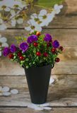 Beautiful flowers of different kinds. Floral bouquet royalty free stock images