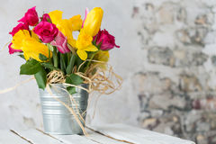 Beautiful flowers for my beloved mother! Stock Photo