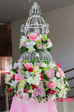 Beautiful flowers ready for wedding ceremony Stock Photography