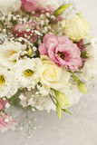 Beautiful flowers on table in wedding day Stock Images