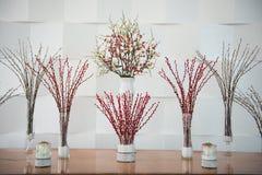 Beautiful flowers in vase Royalty Free Stock Image