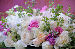 Wedding flowers on the table Royalty Free Stock Photography