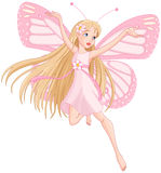 Beautiful flying fairy Royalty Free Stock Image