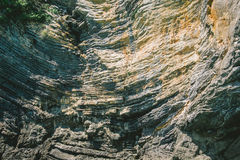 Beautiful folded rock texture as retro background Royalty Free Stock Image