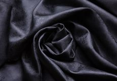 Beautiful folded silk fabric Royalty Free Stock Photos