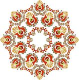 Beautiful folk art hand draw royalty free stock image