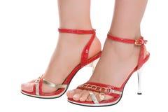 Beautiful foots Stock Photos