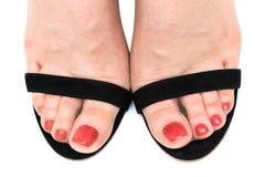 Beautiful foots Royalty Free Stock Photo