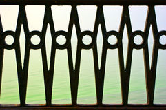 Beautiful forged fence Royalty Free Stock Photos