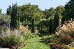 Beautiful formal garden Stock Image