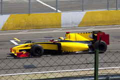 Beautiful Formula 1 car. Running at a maximum speed of the start-finish straight Stock Images