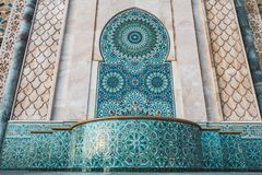 Free Beautiful Fountain At The Mosque Hassan II, Water Tap Decorated With Colorful Shapes Of Mosaic - Casablanca, Morocco Stock Images - 165767144