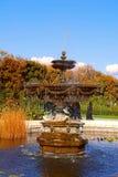 Beautiful Fountain in Garden Royalty Free Stock Image