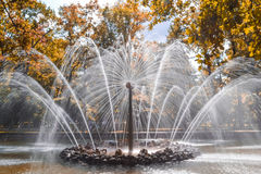 A beautiful fountain Royalty Free Stock Photos
