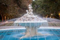 Beautiful fountain in sea garden in Varna, the sea capital of Bulgaria Stock Images