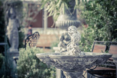 Beautiful fountain statue Royalty Free Stock Images