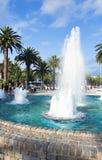 Beautiful fountain in summer Stock Photos