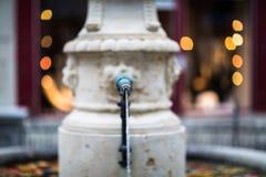 A beautiful fountain, Zurich, Switzerland Stock Image