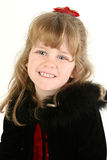 Beautiful Four Year Old Girl Stock Photo