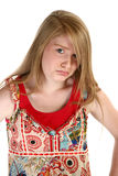 Beautiful Fourteen Year Old Gi Royalty Free Stock Photography