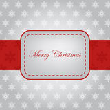Beautiful frame design for Christmas card. With place for your text Stock Photography