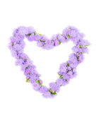 The beautiful frame heart Stock Photography