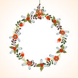 Beautiful frame for Merry Christmas celebration. Royalty Free Stock Image